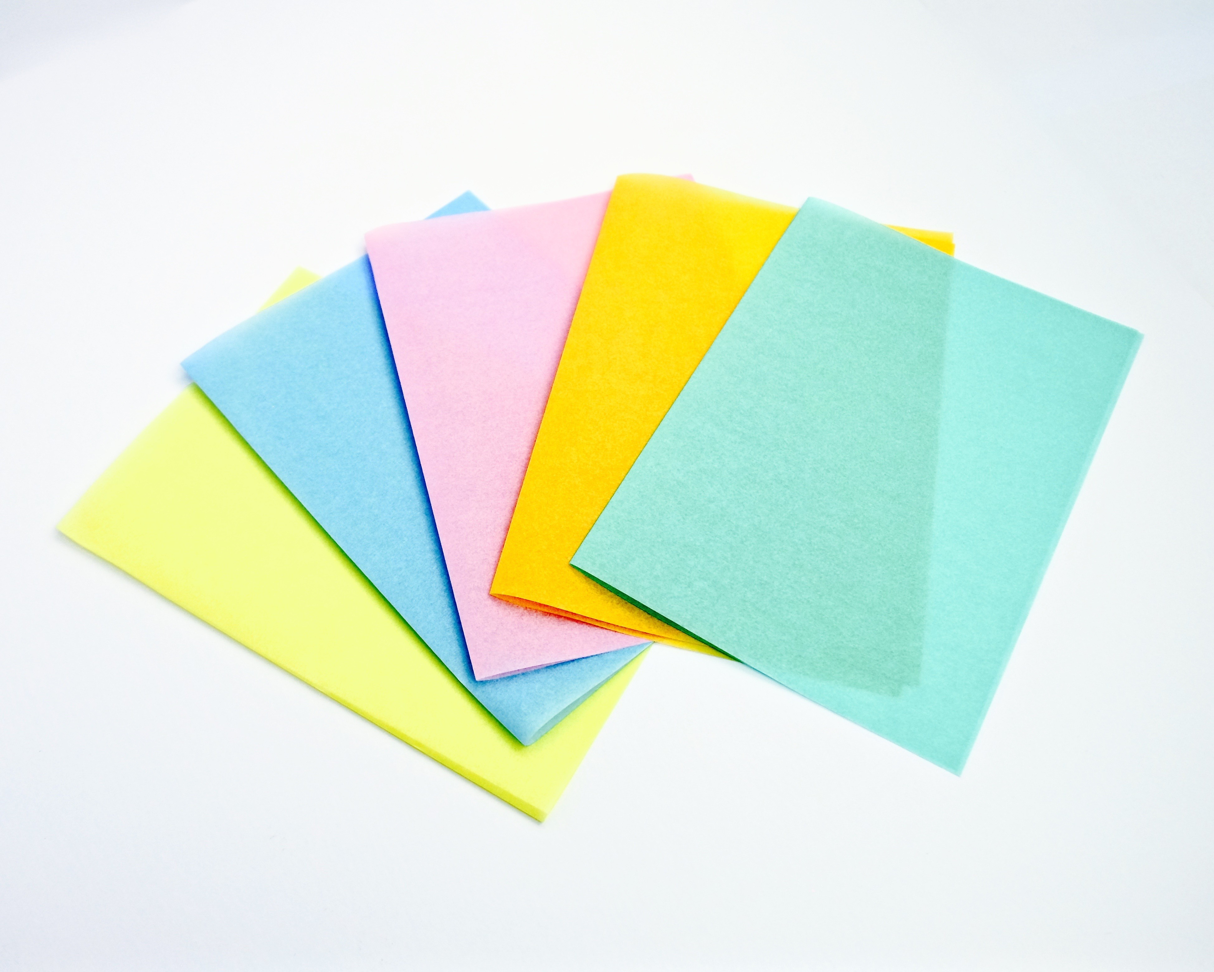 Silicone Coated Coloured Greaseproof Paper